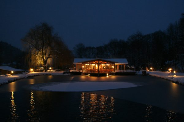 Restaurant im Winter